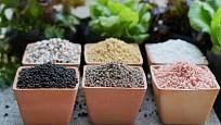 S minerálními hnojivy je třeba zacházet obezřetně, dobře vybírat i dávkovat