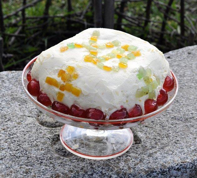 Pascha je typickou slavnostní sladkostí na pravoslavném stole.