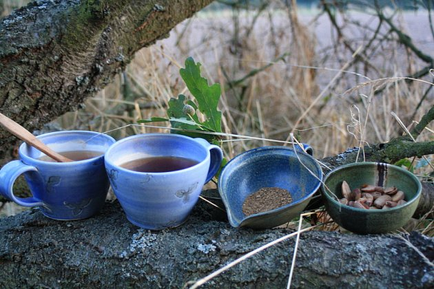 Postup přípravy žaludové kávy