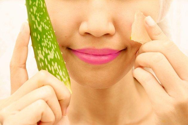 Aloe vera má antibakteriální účinky, je tedy vhodná pro péči o pleť.