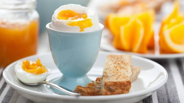 vejce na hniličku, ideální snídaně