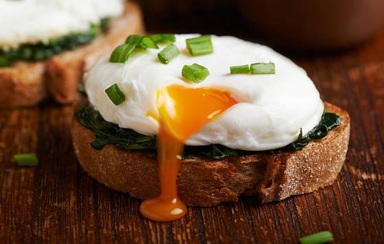 labužnické ztracené vejce