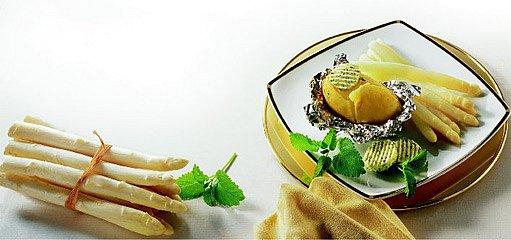 brambory s chřestem