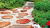 dřevěné šlapáky