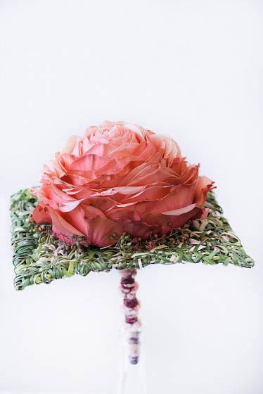 Glamélie je stále populárnější svatební kyticí.