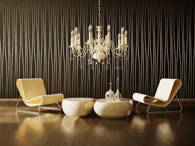 Takovýto lustr v moderním interiéru? Proč by ne, pokud je k němu sladěn zbytek...