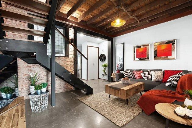 Moderní studio v loftovém stylu NYC.