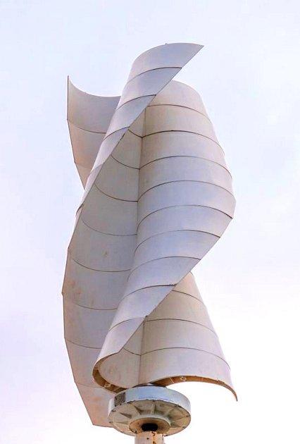 Axiální větrná turbína