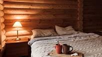 Dřevostavba dodá na pohodě a atmosféře v přírodním stylu.