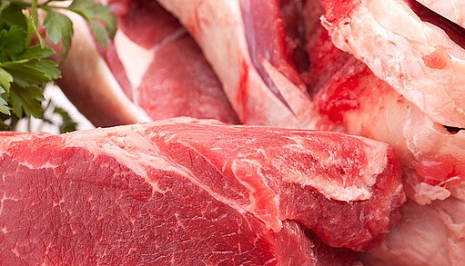 hovězí a skopové maso