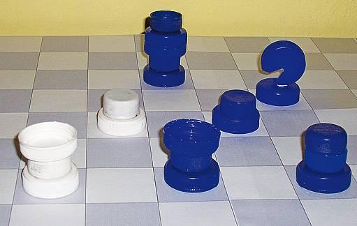 šachy z úzávěrů