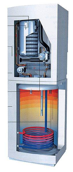 Kompaktní plynový kondenzační kotel Logomax plus GB152T