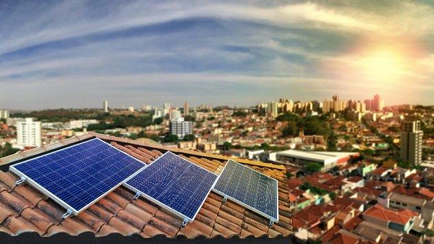 Nevyčerpatelný zdroj - energie ze Slunce.