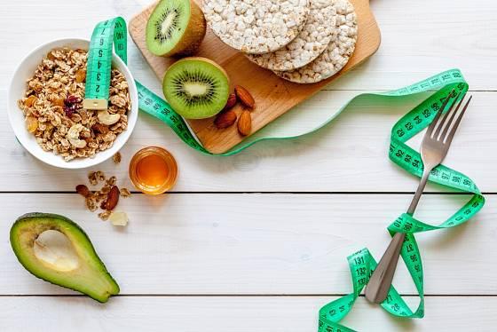 Kiwi bývá součástí různých diet.