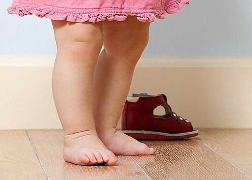 hlavně malé děti musí mít kvalitní obuv