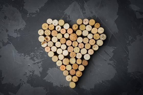 Tvar srdce se bude hodit pro příležitost oslavy sv. Valentýna.