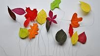 Začneme jednoduchými tvary listů a pak vyzkoušíme i složitější