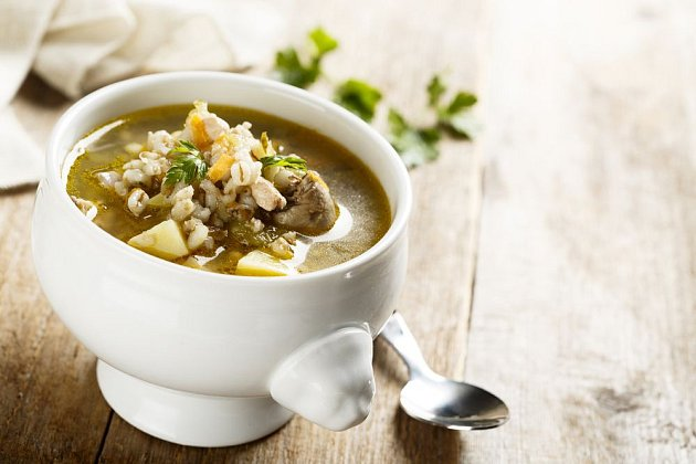 Droby jsou základem pro lahodnou a výživnou polévku
