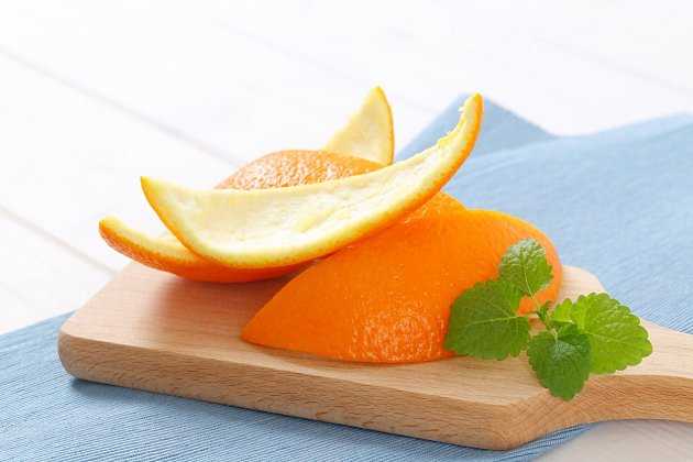 Kůra pomeranče má až třikrát více vitaminu C než stejné množství dužniny