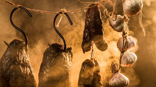 Uzené maso má charakteristickou chuť