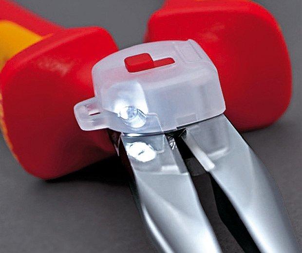 miniaturní LED svítilna