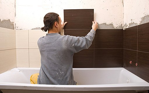 obkládání koupelny