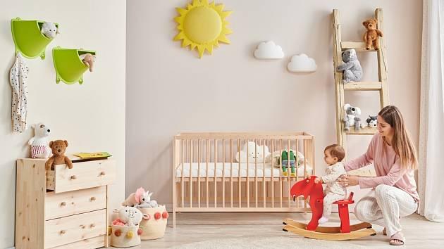 Dětský pokojíček by měl být především bezpečný.