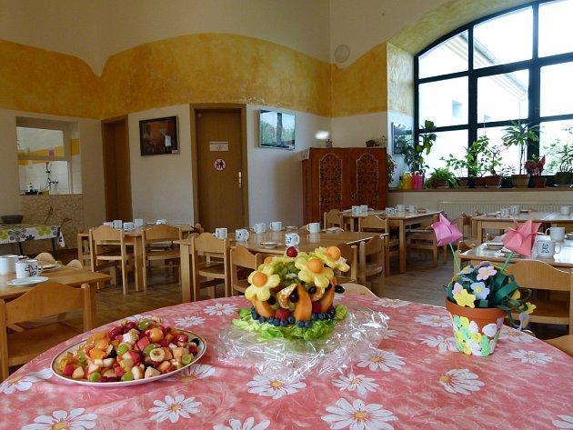 Ovocný koš v mateřské škole Semínko.