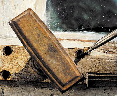 výroba pařeniště ze starého okna