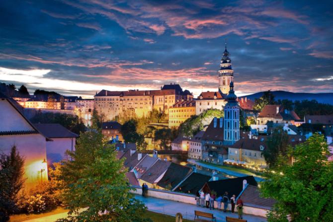 Již od roku 1992je Český Krumlov vyhlášenchráněnou památkou UNESCO.