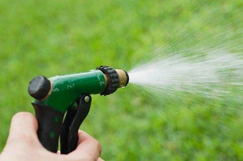 Jestli chcete, aby se sůl rychleji vstřebala, můžete sůl rozpustit ve vodě a aplikovat směs zalitím nebo jako postřik.