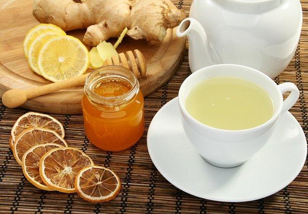 Med, citron, zázvor - funguje proti nachlazení