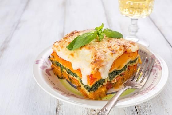 Dýňové lasagne zahřejí.