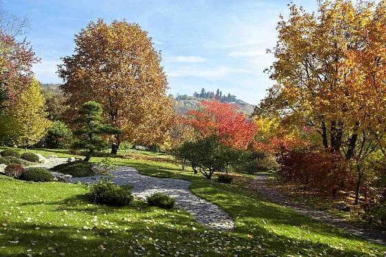 Podzim v Japonské zahradě.
