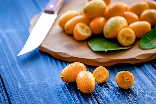 Komquat přípomíná malé pomeranče