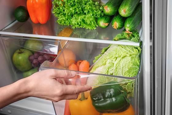Pro uchování kvalitní čerstvé zeleniny je důležitá teplota i vlhkost vzduchu