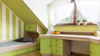 Půdní prostory vyžadují nábytek na míru