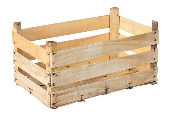 Z přepravek na ovoce může vzniknout zajímavý nábytek.