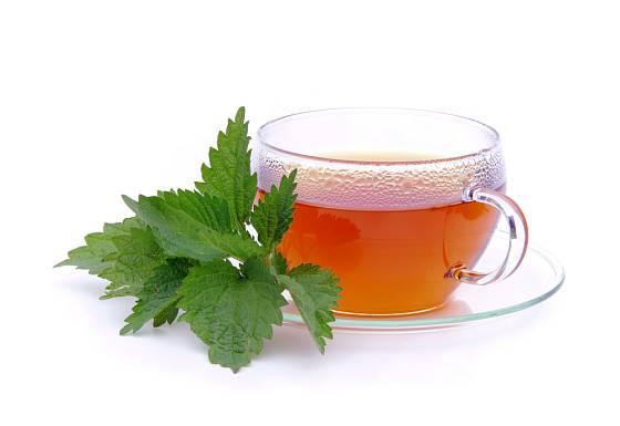 Čaj z kopřivy pijte 3x denně.