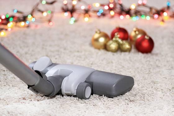 Vánoční úklid nemusí být noční můrou