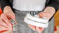 Na nízký stav baterie upozorní akustický signál
