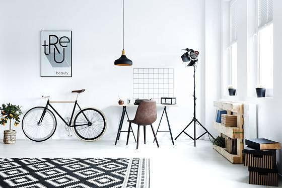 Kolo se může stát také dekorační součástí bytu.