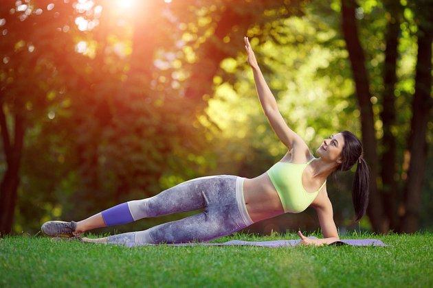 Nezapomeňte se během dne věnovat i cvičení