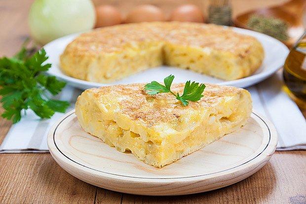 Pravá španělská tortilla