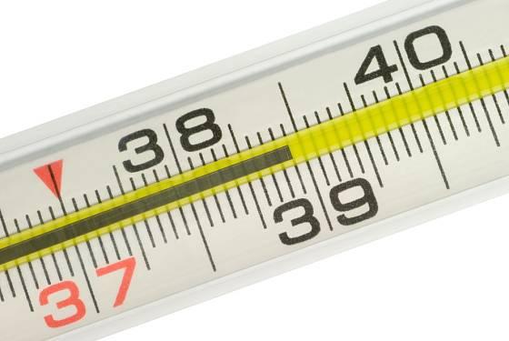 Teplotu přes 37 stupňů Celsia označujeme za horečku.