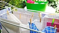 Při sušení prádla využijete staré silonky