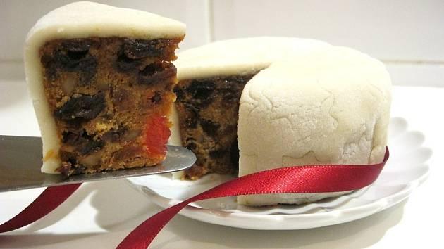 Anglický vánoční dort