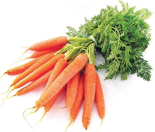 při průjmech dětí je vhodná vařená mrkev, která zklidňuje trávicí trakt