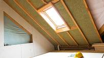 Tepelně izolované podkroví rozšíří váš obytný prostor.