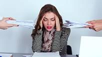 Nadměrný pracovní stres přispívá ke vzniku zdravotních obtíží